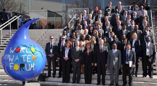 Forum mondial de l'eau avec le BECFIN